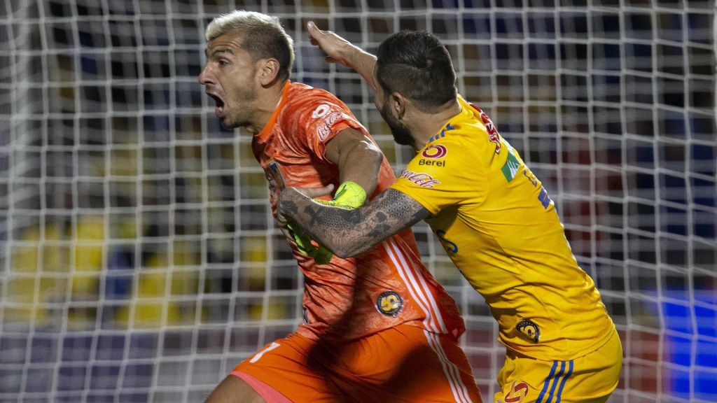 Gol de Nahuel Guzmán salva a Tigres en Liga de Campeones de Concacaf - Nahuel Guzmán Tigres UANL Concacaf Alianza
