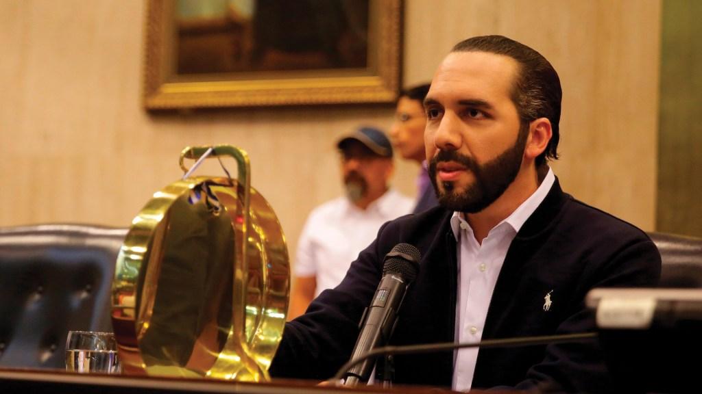 EE.UU. pide a Nayib Bukele demostrar su compromiso 'con la democracia' - Nayib Bukele