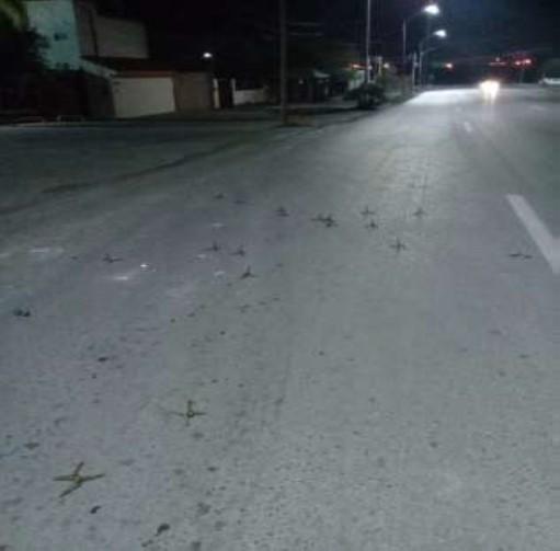 Nuevo Laredo Tamaulipas poncha llantas secuestradores 2