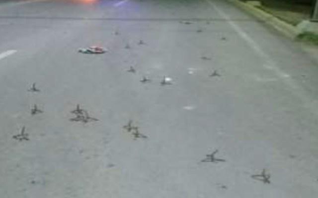 Detienen a seis presuntos secuestradores en Nuevo Laredo - Nuevo Laredo Tamaulipas poncha llantas secuestradores