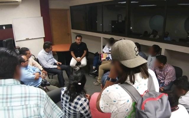Detienen a cuatro por agresión a periodistas en Oaxaca - Foto de @FISCALIA_GobOax