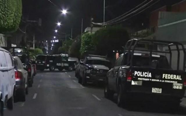 Autoridades encuentran armas y droga en la colonia Lindavista - Foto de Noticieros Televisa