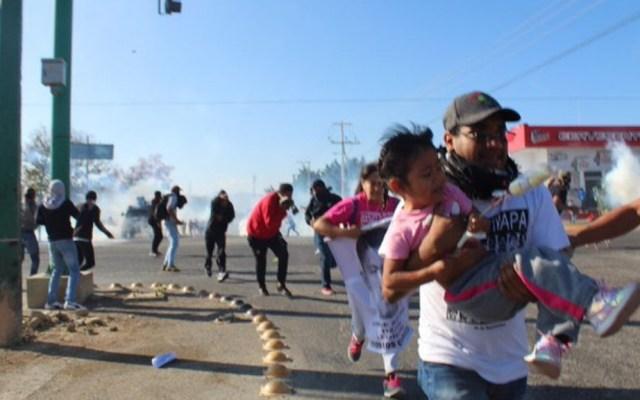 Sánchez Cordero exige castigo para responsables de agresión contra padres de normalistas de Ayotzinapa - Padres Normalistas Ayotzinapa Chiapas agresión