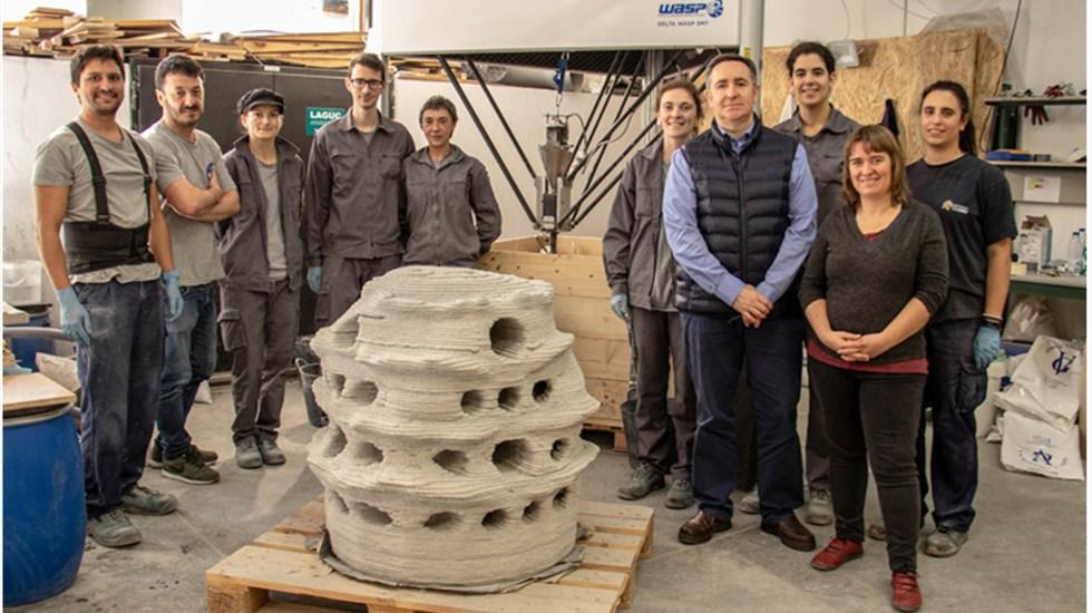 Modelan arrecifes con impresión 3D para recuperar ecosistemas degradados - Cantabria diseña y fabrica con una impresora 3D arrecifes artificiales para mejorar los ecosistemas. Foto de unican.es