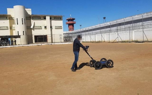 Hallan aparatos, animales y armas hechizas en penal de Nuevo Laredo - Penal Nuevo Laredo revisión cárcel