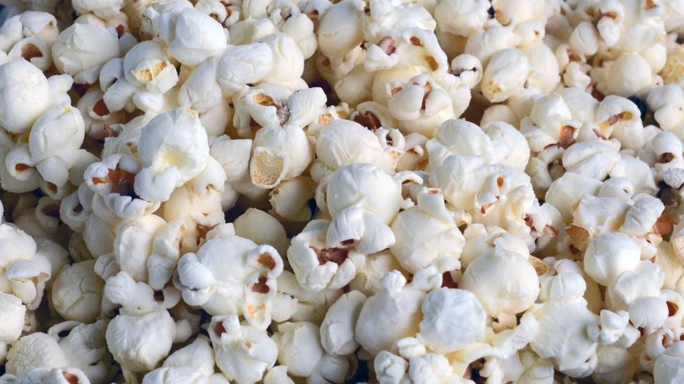 ¿Por qué comemos palomitas en el cine? - Foto de Pixabay.