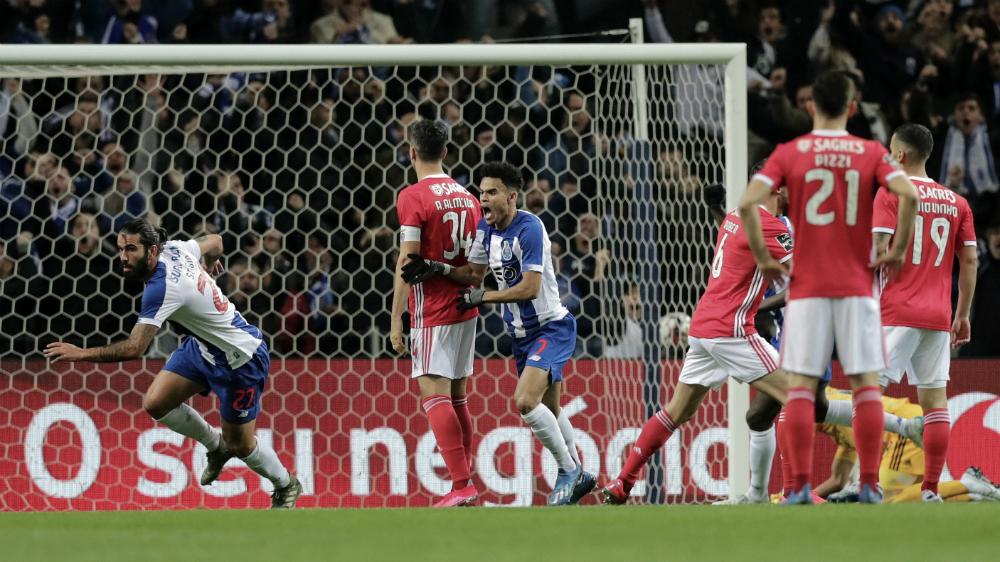 Porto y 'Tecatito' consiguen triunfo de oro ante el Benfica - Foto de EFE