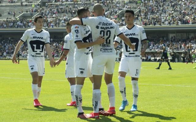 Pumas golea al San Luis y mantiene su invicto - Pumas partido Atlético San Luis Goleada 2