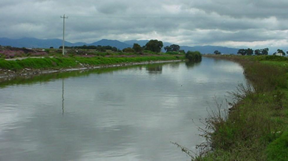 Río Lerma, a punto de desbordarse en Toluca por lluvias - Río Lerma en Toluca, Estado de México. Foto de Sermago / Flickr