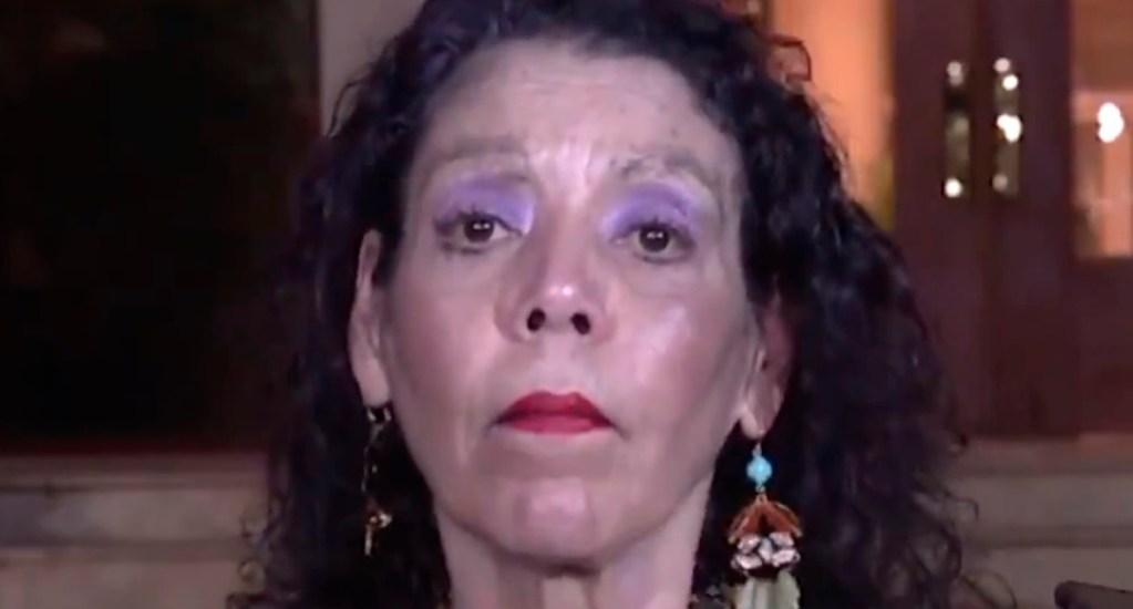 Vicepresidenta de Nicaragua califica de 'ridículos diablos' a opositores - Rosario Murillo, vicepresidenta de Nicaragua. Captura de pantalla / @nicaraguainvest