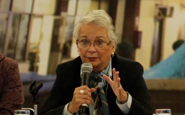 """""""Hemos llegado tarde"""", admite Sánchez Cordero sobre feminicidios - Sánchez Cordero sobre feminicidios. Foto de @SEGOB_mx"""