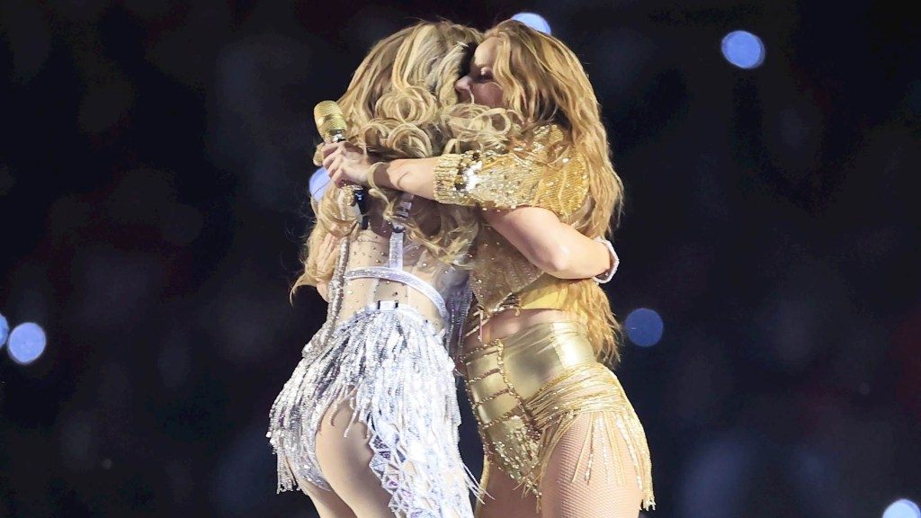 #Video Shakira y JLo protagonizan el show de medio tiempo del Super Bowl - SB Shakira Super Bowl Jennifer Lopez 3