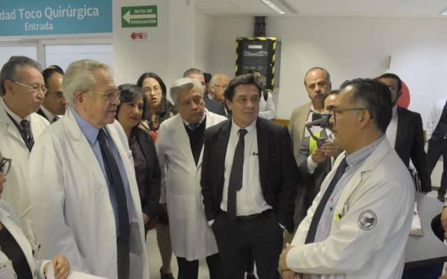 Salud y Función Pública verifican atención en el Hospital Juárez - Foto de @SSalud_mx
