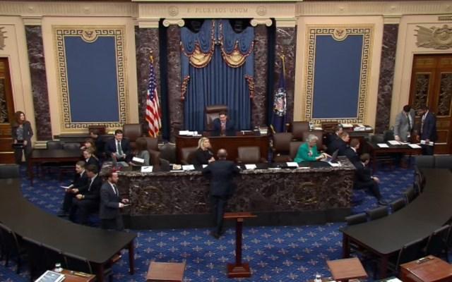 ¿Cómo votarán en el Senado de EE.UU. para el juicio político de Trump? - Senado de EE.UU. Foto de EFE