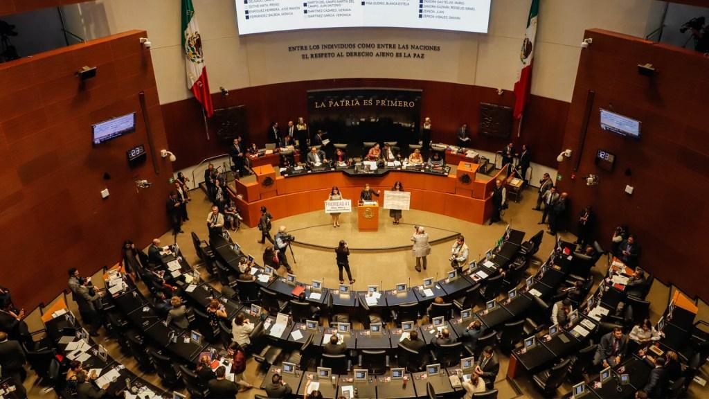Senado de la República recibe reformas al Poder Judicial - Senado de la República sesión 18022020