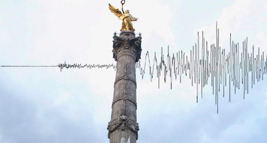 Ciudad de México trabaja en un sistema de alerta de sismo vía celular - Sismo en la Ciudad de México. Foto de @InstitutodeGeofisicaUNAM