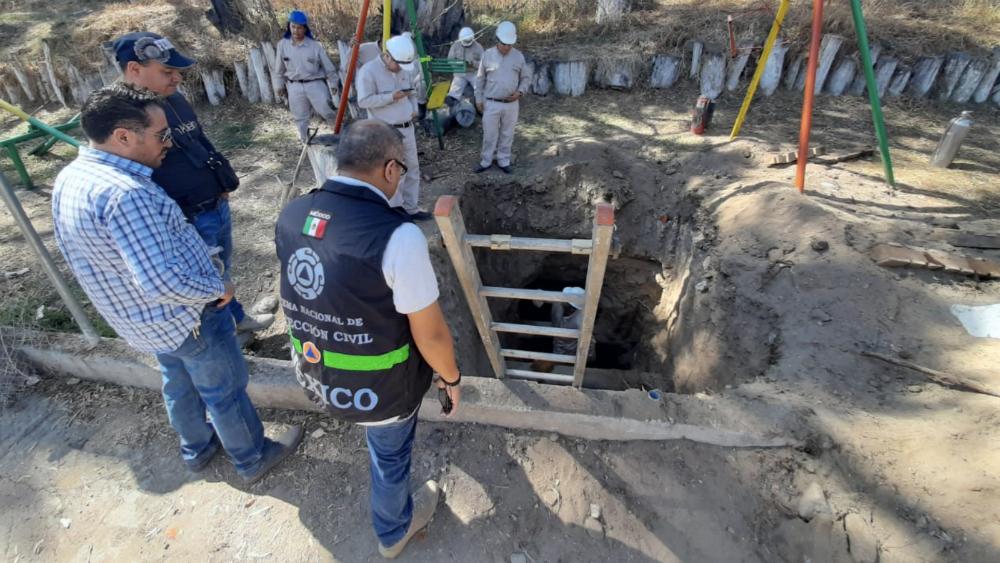 Localizan toma clandestina de diésel en Tlalnepantla - Foto de @CNPC_MX
