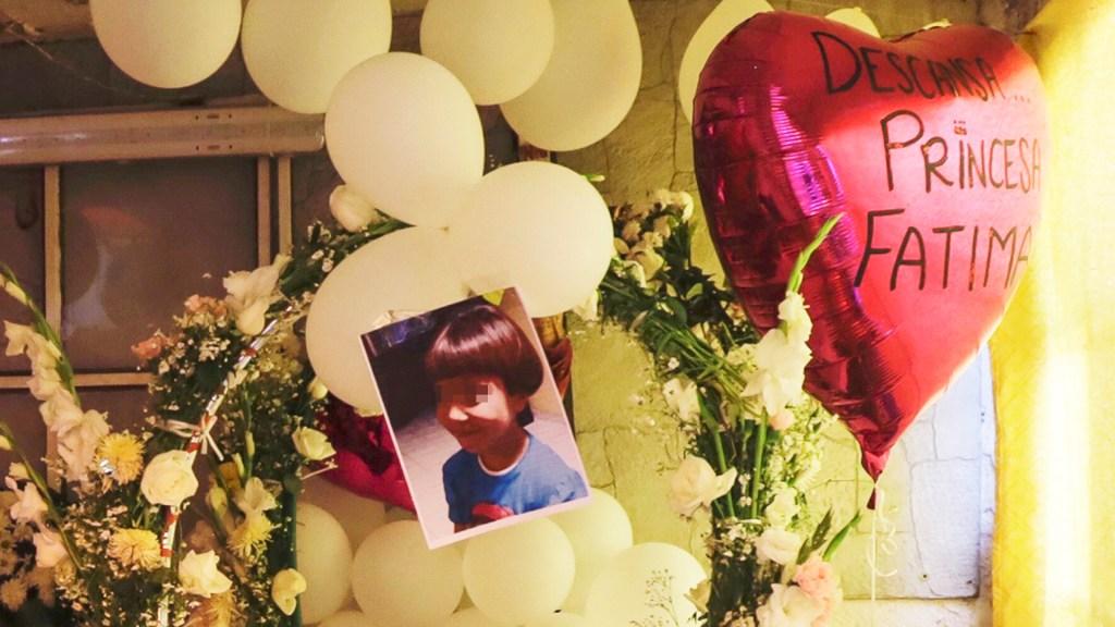 #Video El lugar donde encontraron el cuerpo de Fátima - La tarde de este lunes, familiares, amigos y vecinos de Fátima la velarán en su casa. Foto de Notimex