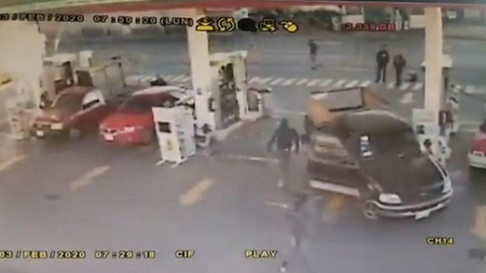 #Video Hombres armados asaltan gasolinera en Ecatepec - #Video Hombres armados asaltan gasolinera en Ecatepec