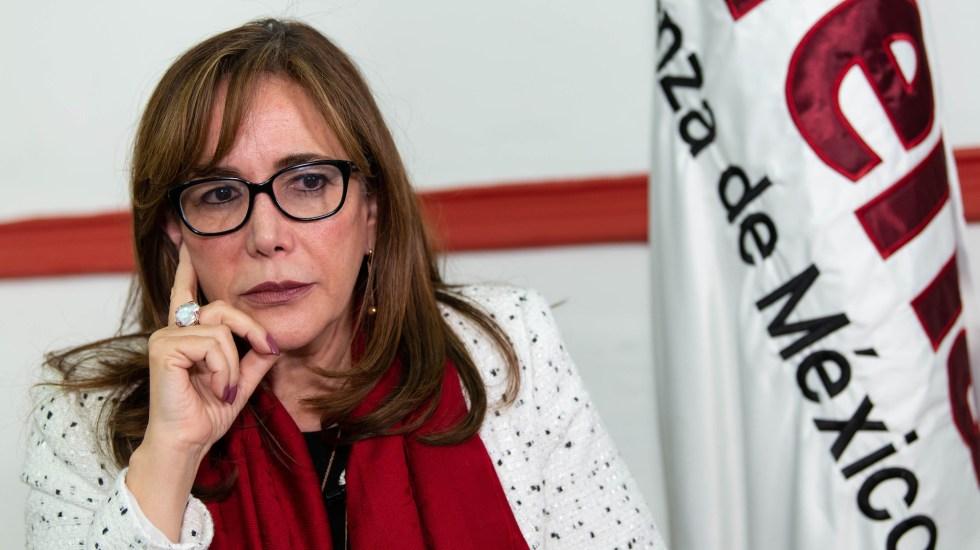 Feminicidios no están al alza, asegura Yeidckol Polevnsky - Yeidckol Polevnsky, secretaria general en funciones de presidenta de Morena. Foto de Notimex-Gerardo Luna.