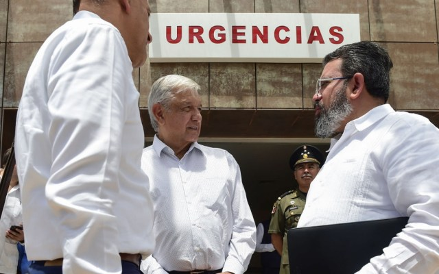 López Obrador entregará control de hospitales a Fuerzas Armadas para atender COVID-19 - AMLO Andrés Manuel López Obrador Oaxaca 2