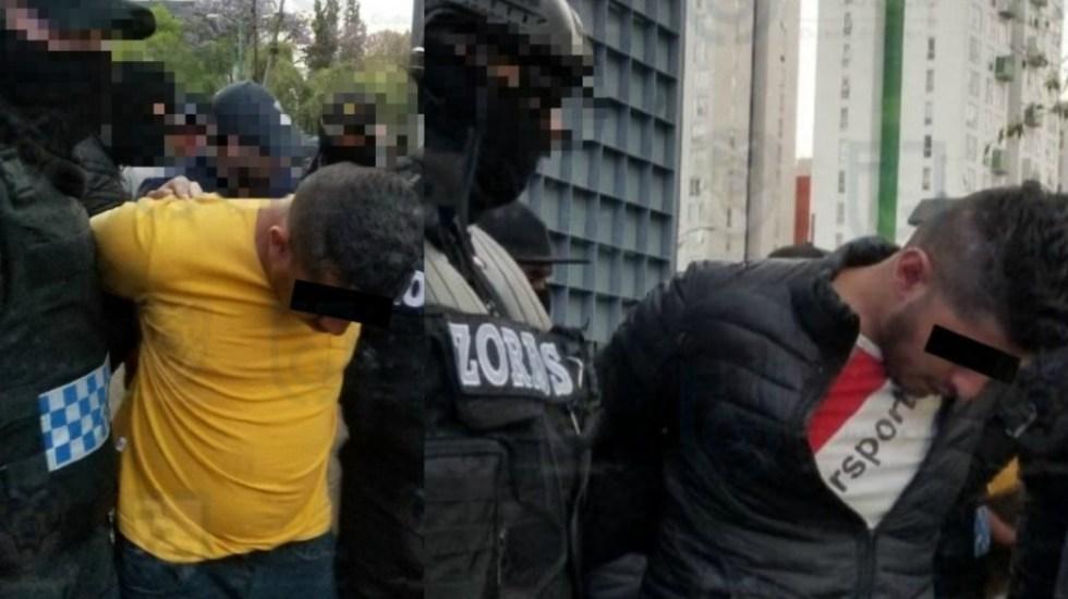 Trasladan a Reclusorio Oriente a presuntos homicidas de Abril Pérez - Foto de  @FiscaliaCDMX