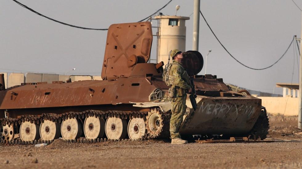 EE.UU. ataca a milicias en Irak tras muerte de dos de sus soldados - Foto de EFE