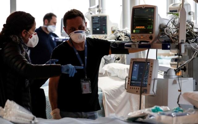 Europa registra 20 mil infectados y 700 muertes cada día por COVID-19: OMS - Atención hospitalaria para pacientes con COVID-19 en Europa