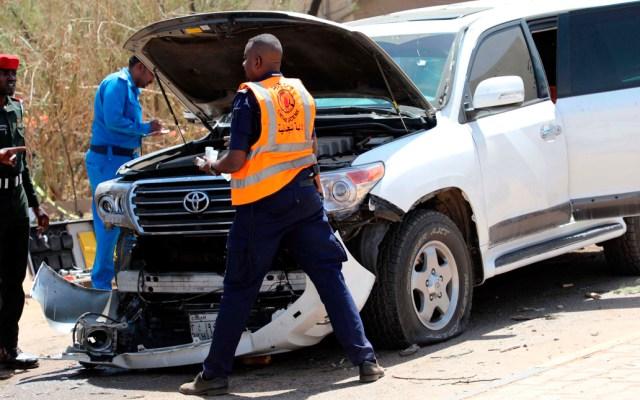 Primer ministro de Sudán sale ileso de atentado terrorista - Abdallá Hamdok salió ileso este lunes de una explosión al paso del convoy en el que viajaba en Jartum, una acción que el Gobierno ha calificado de