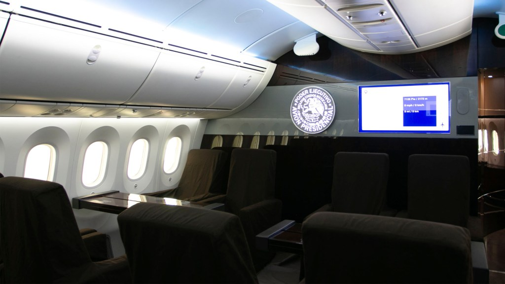 Rifa del avión presidencial de México se hará sin vender todos los boletos - avión presidencial