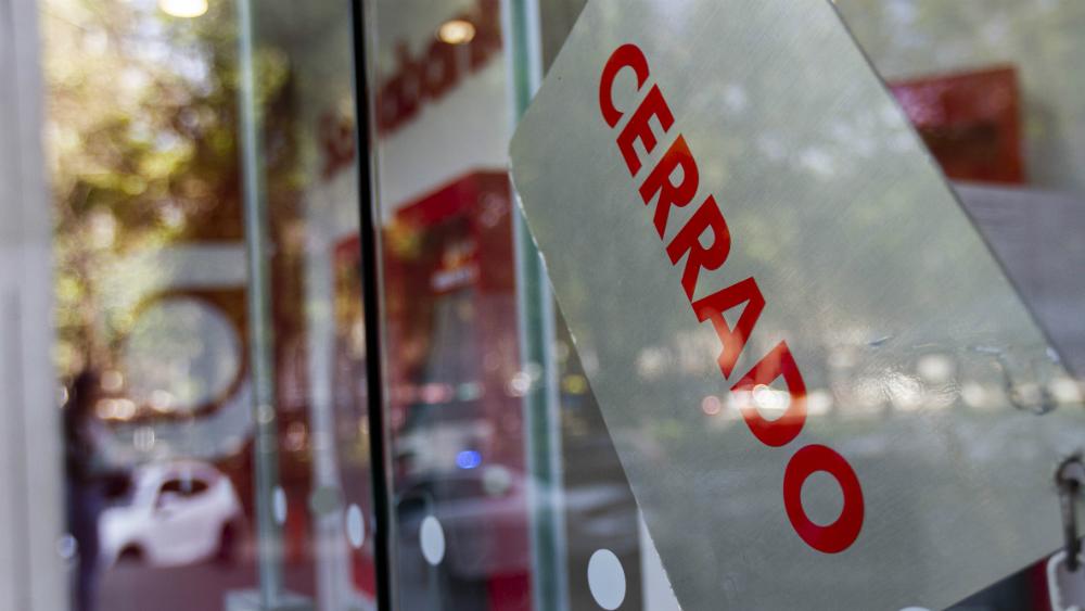 Bancos no abrirán el próximo 15 de marzo - Banco cerrado. Foto de Notimex / Archivo