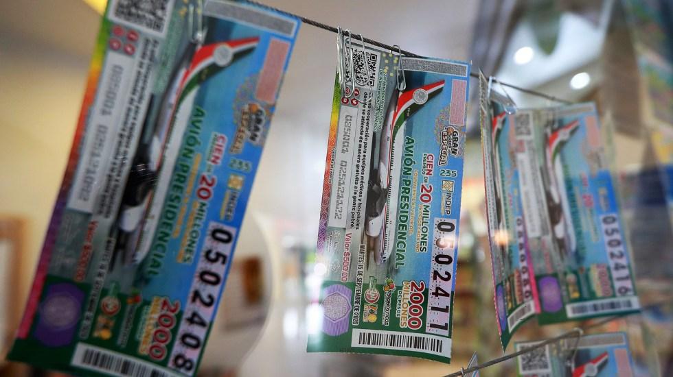 Vendidos 63.58 por ciento de 'cachitos' para sorteo del Avión Presidencial - Venta de boletos para rifa del avión presidencial