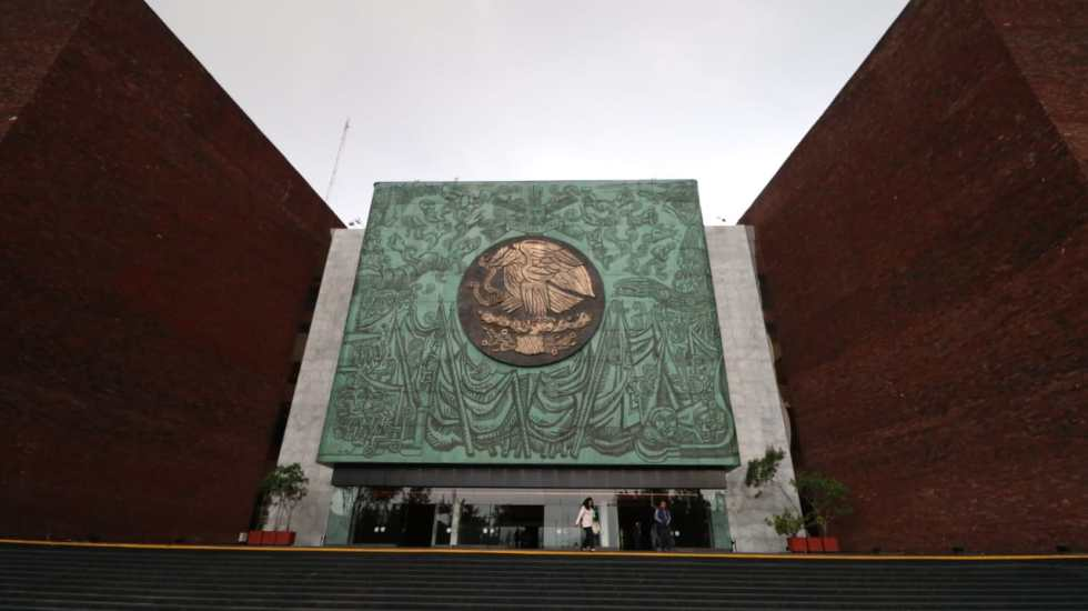 Perfilan en julio reanudación de actividades presenciales en Cámara de Diputados - Vista del Palacio de San Lázaro. Foto de Cámara de Diputados