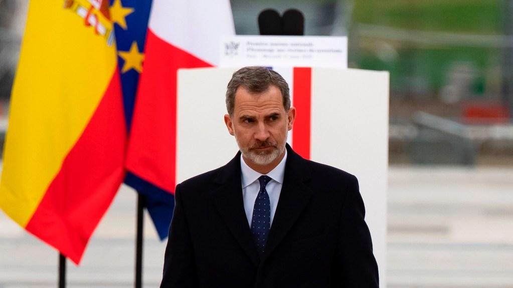 Felipe VI renuncia a la herencia de su padre - Felipe VI. Foto de EFE/EPA/IAN LANGSDON