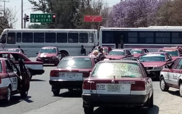 Miembros del Codep realizan bloqueos en Oaxaca - CODEP Oaxaca bloqueos