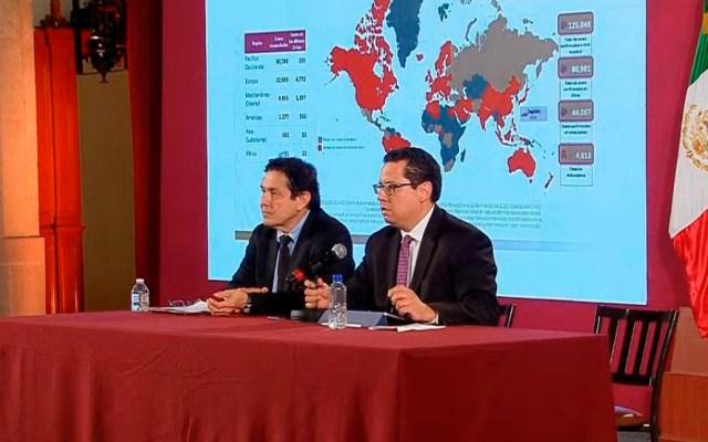 Se eleva a 15 el número de casos de COVID-19 en México - Conferencia sobre la situación del COVID-19 en México. Captura de pantalla