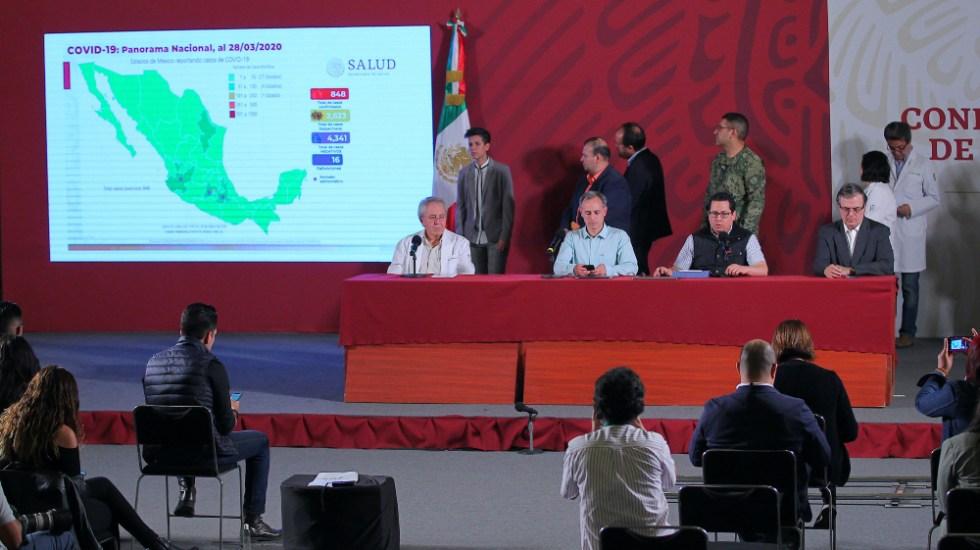 Informe sobre COVID-19 en México del sábado 28 de marzo 2020 - Foto de Notimex