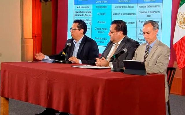 Se mantienen 5 casos de COVID-19 en México; tres ya están asintomáticos - Conferencia sobre la situación del COVID-19 en México el 04 de marzo. Captura de pantalla