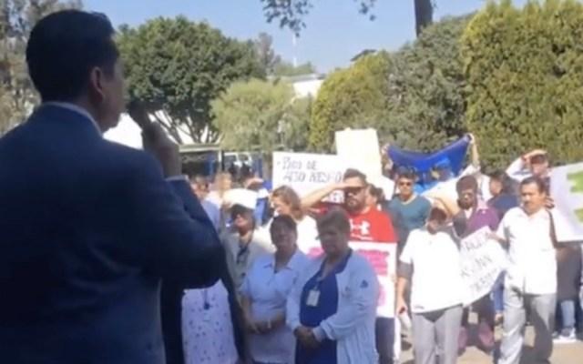 Trabajadores del INER protestan ante falta de protocolos por COVID-19 - covid-19 coronavirus iner