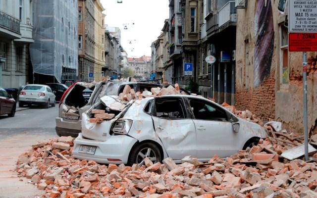 Sismos en Zagreb, capital de Croacia, dejan al menos un herido - Foto de EFE