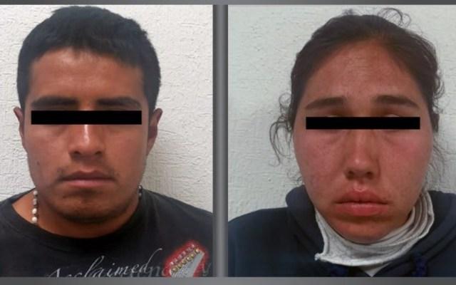 Detienen a dos acusados de organizar robos a tiendas en Tecámac - Detenidos Estado de México Tecámac robos