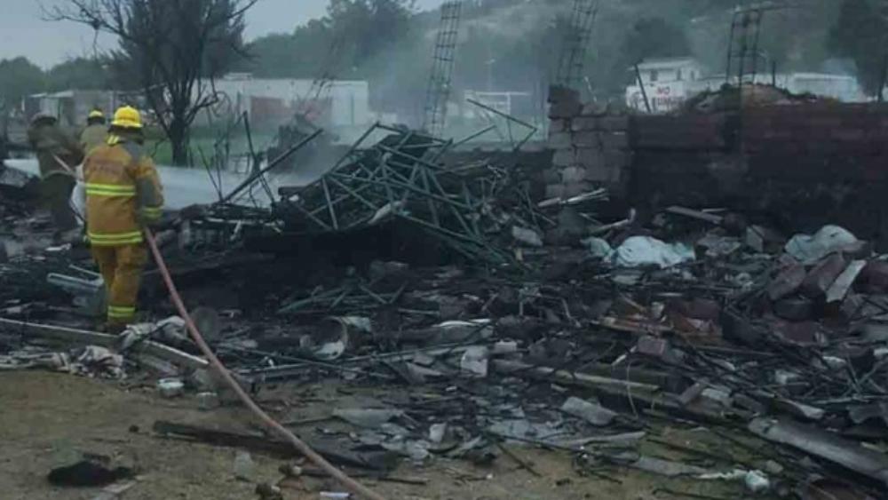 Explosión de polvorín deja dos muertos y cinco heridos en Tultepec - Explosión de polvorín deja dos muertos y cinco heridos en Tultepec
