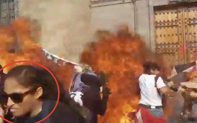 #Video Detonación en la puerta principal de PalacioNacional - Explosivos Palacio Nacional
