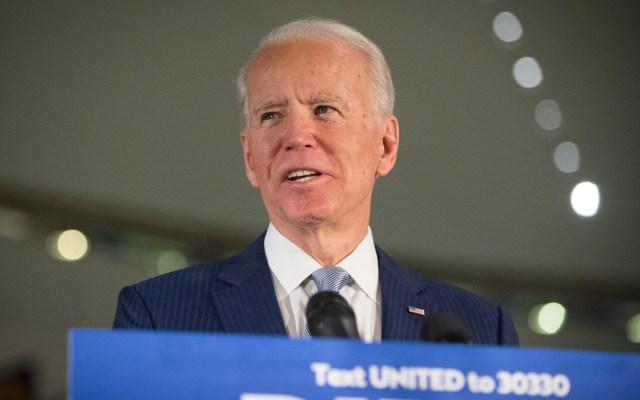 Los Obama, Hillary Clinton y Bernie Sanders acompañarán a Biden en convención virtual - Exvicepresidente de Estados Unidos, Joe Biden. Foto de EFE