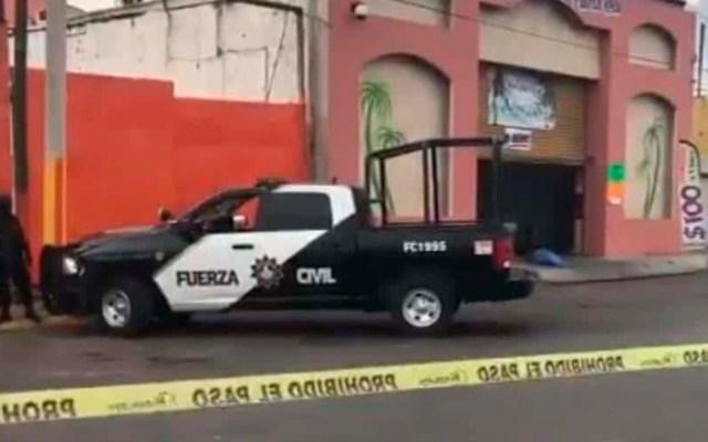 Suman 102 mil 325 homicidios dolosos en lo que va del sexenio - Fuerza Civil de Nuevo León en escena del crimen. Foto Especial / ABC