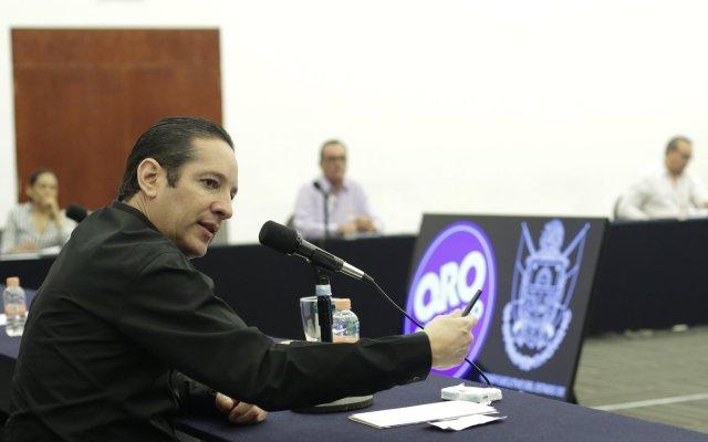 Gobernador de Querétaro da positivo a COVID-19 - Foto de Twitter Pancho Domínguez