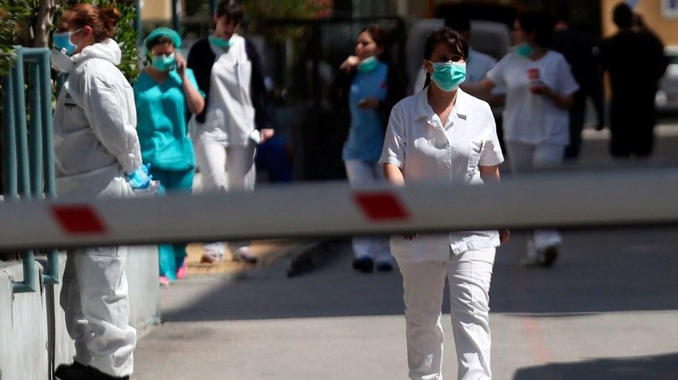 Mujer que dio a luz en Grecia, primer caso de COVID-19 entre refugiados - Grecia mujer coronavirus COVID-19