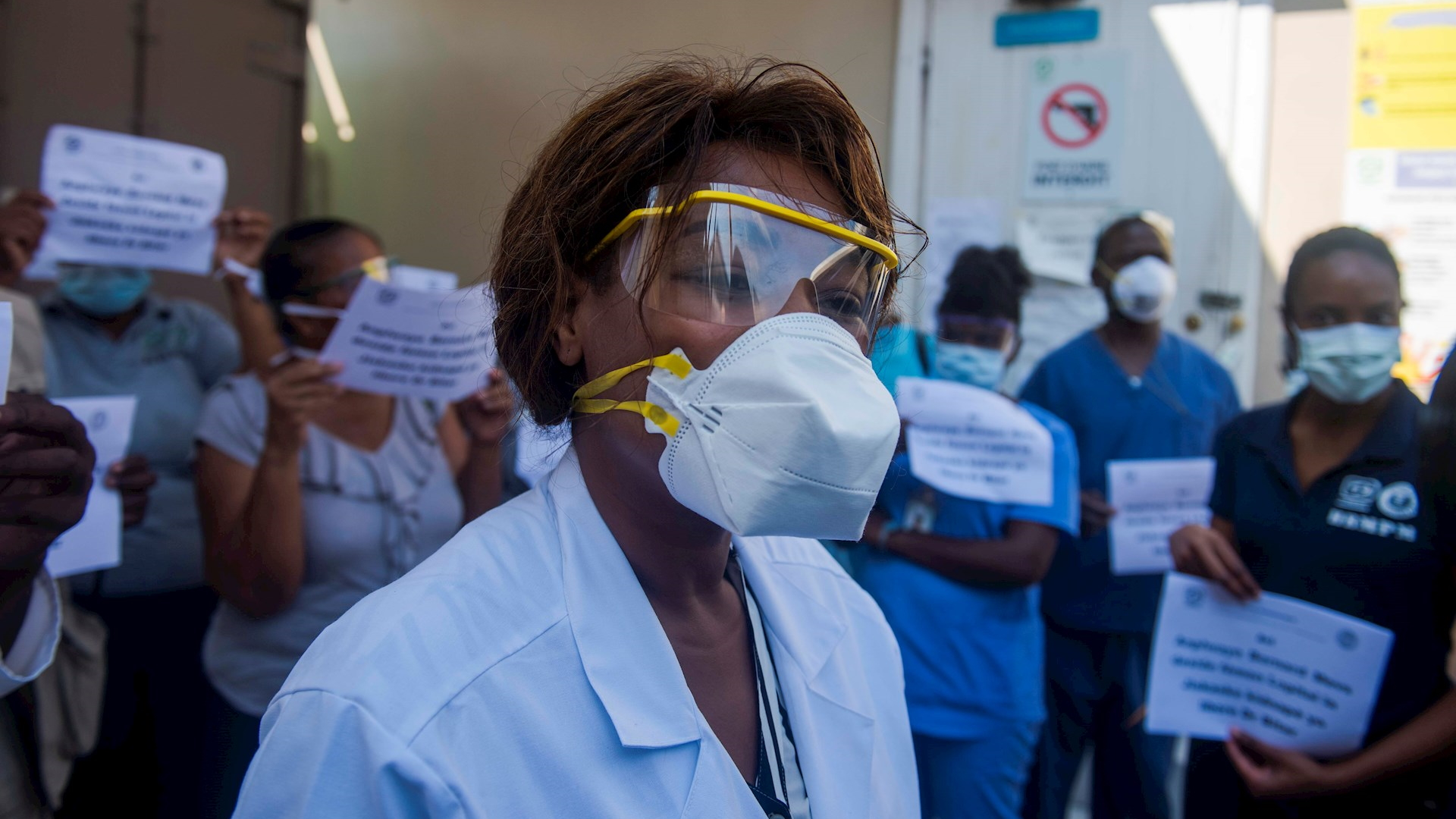 Hospital paro Haití secuestro director 2