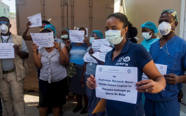 Uno de los mejores hospitales de Haití en paro por secuestro de su director - Hospital paro Haití secuestro director