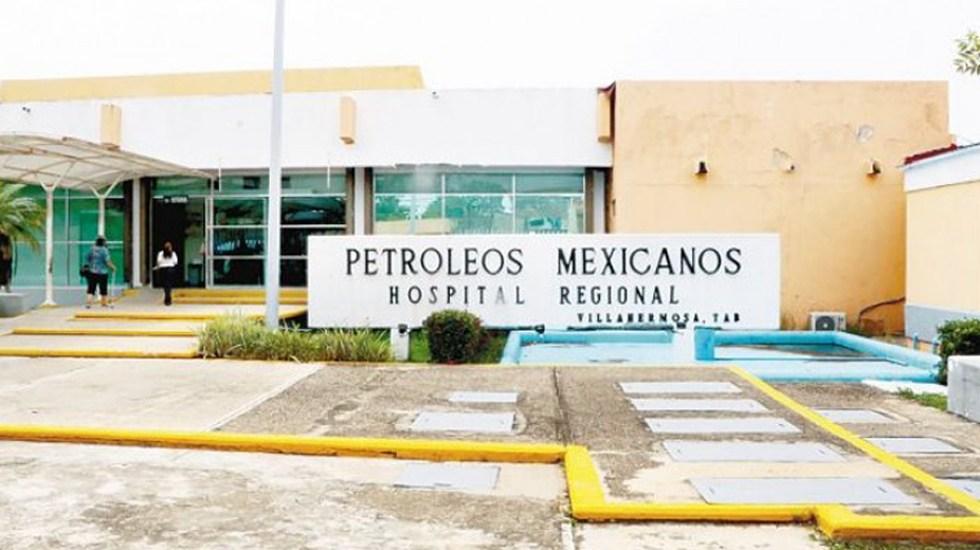 Insabi ofrece apoyo a Pemex por caso de medicamento contaminado - Hospital Regional de Pemex en Villahermosa. Foto de Tabasco Hoy